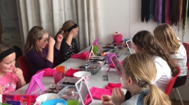 make-up kinderfeestje
