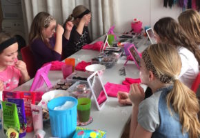 Three Design make-up kinderfeestje
