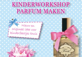 kinderfeestje thuis parfum maken