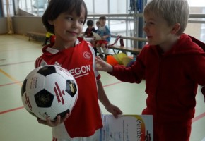 voetbalfeestje, kinderfeestje voetbal