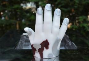 waxhand maken, waxhand, wax hand, kinderfeestje waxhand maken, maak je hand van wax, kinderfeestje Gelderland