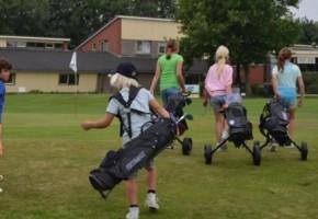 supa golf, golf feestje