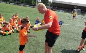 Meet and Greet met een bekende voetballer of scheidsrechter
