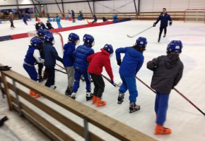 ijshockeyfeestje Breda en Rotterdam